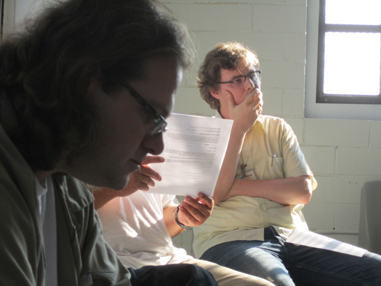 Mac Rogers, 2011 Playwright-in-Residence at Northpoint Training Center